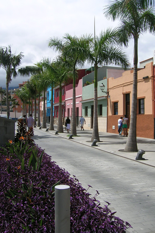 Rearrangement of Mequinez Street